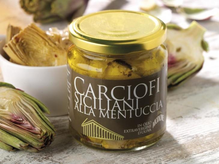 Carciofi siciliani alla mentuccia