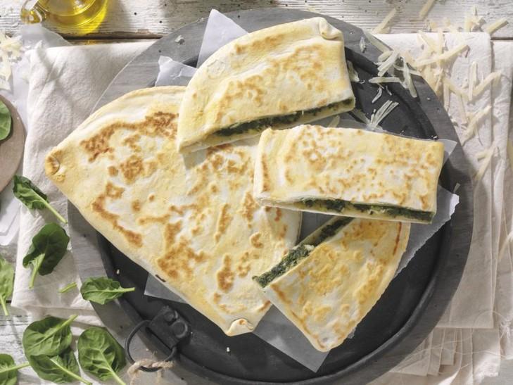 Crescione erbette e formaggio