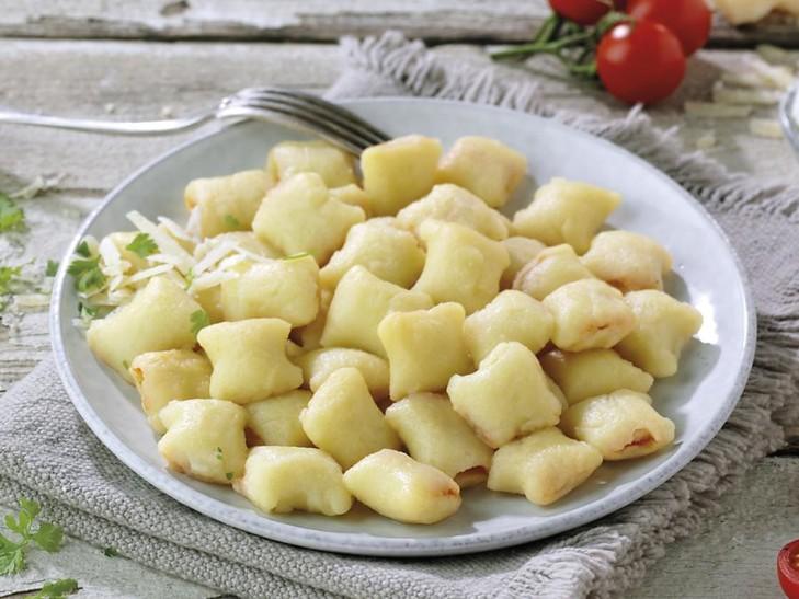 Gnocchi ripieni pomodoro e mozzarella
