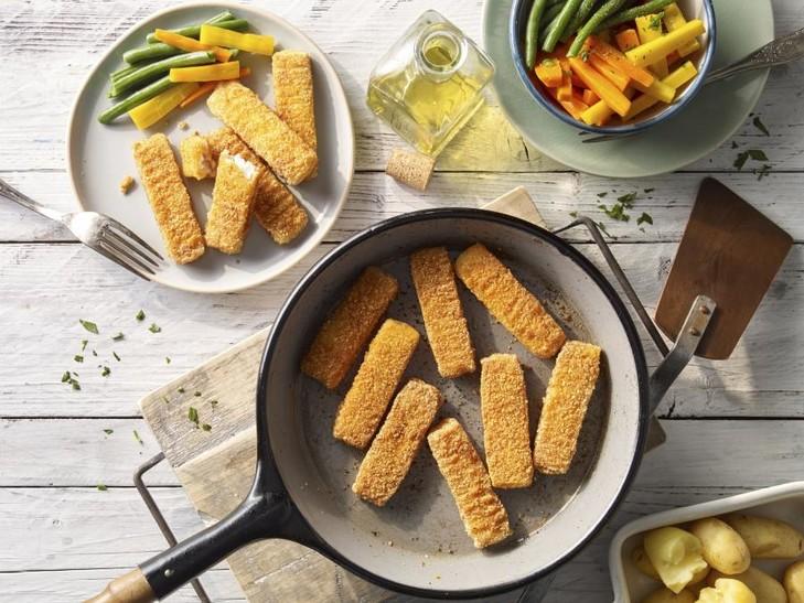 Bastoncini di pesce Senza Glutine
