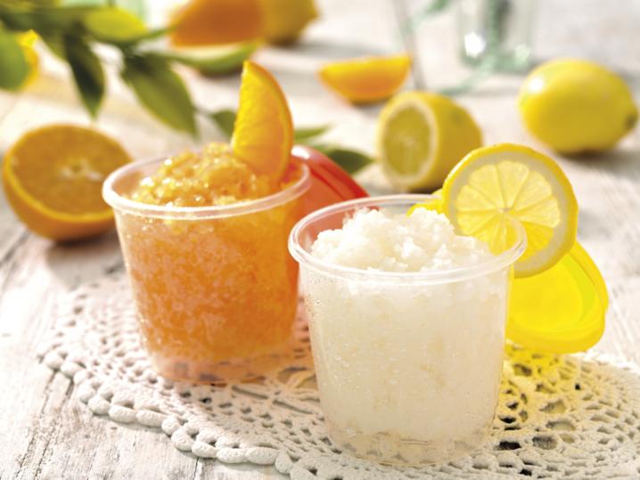 Granita limone arancia