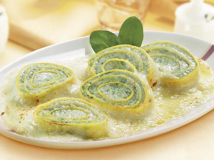 Rotelle ricotta e spinaci