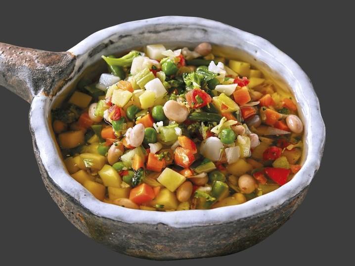 Minestrone di verdure 20 minuti
