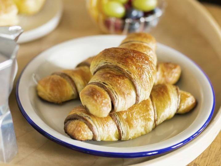 Croissants alla nocciola