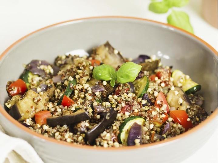 Insalata saracena con quinoa